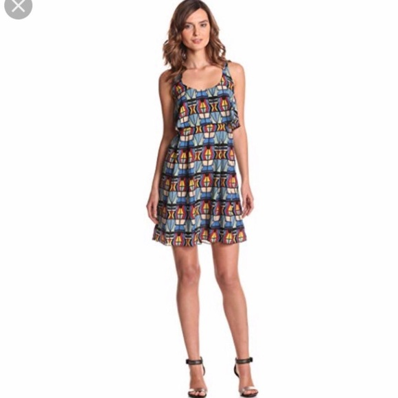 Jessica Simpson Abstract Dress, Size 4